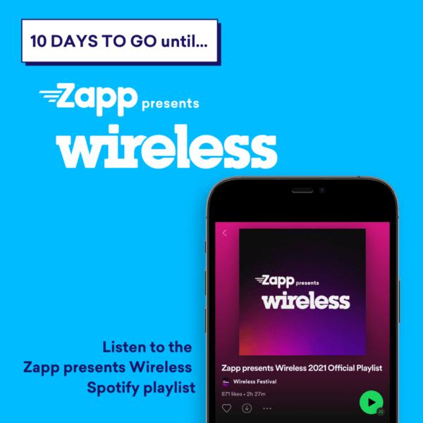 Zapp presents Wireless Spotify Playlist