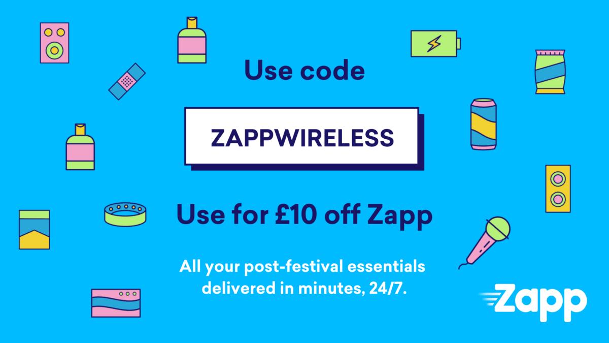 £10 Off your next Zapp order