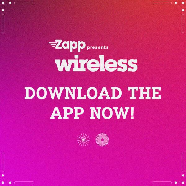 Download the Zapp presents Wireless Festival App
